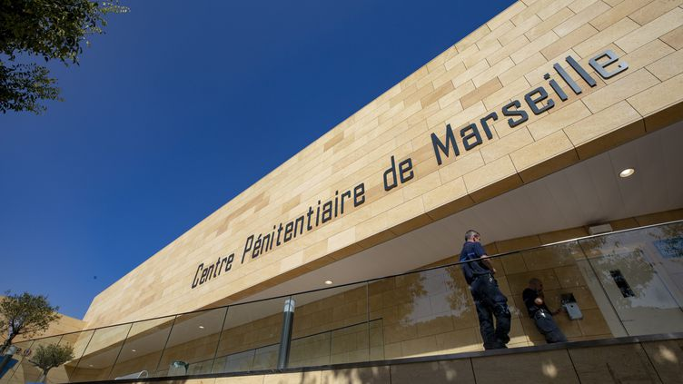 La prison des Baumettes à Marseille le 13 septembre 2018. (SPEICH FREDERIC / MAXPPP)