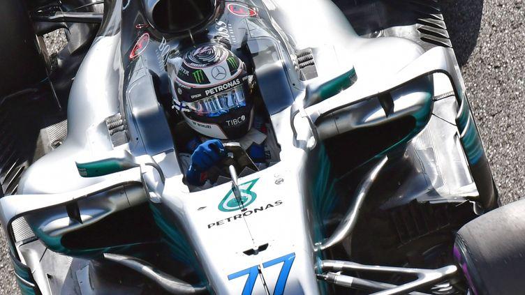 Valtteri Bottas (Mercedes) à Abou Dhabi