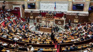 Séance de questions au gouvernement à l'Assemblée nationale, le 26 septembre 2017. (MAXPPP)