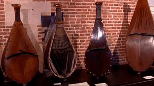 Point d'orgue de l'exposition au château de Martainville, une collection rare de céciliums, un instrument unique au monde inventé en Normandie au 19e siècle  (Culturebox / Capture d'écran)