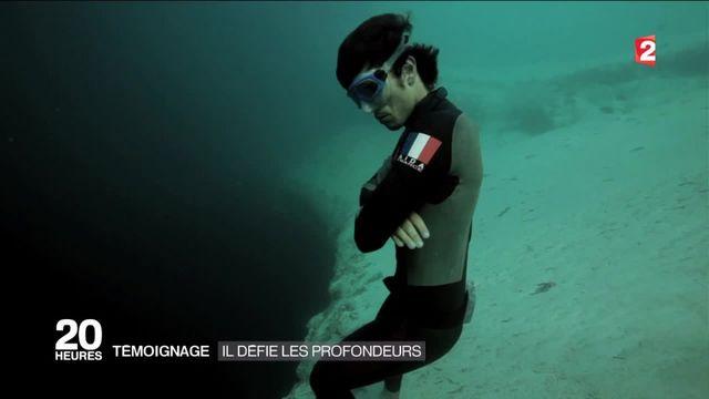 Témoignage : l'homme-poisson qui défie les profondeurs
