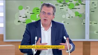 Benoît Serre, vice-président de l'association nationale des DRH,le 7 juin 2021,sur la chaîne franceinfo. (FRANCEINFO)