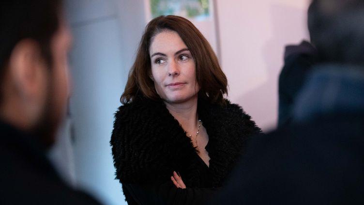 Olga Givernet, le 24 janvier 2019, à Paris. (CHRISTOPHE MORIN / MAXPPP)