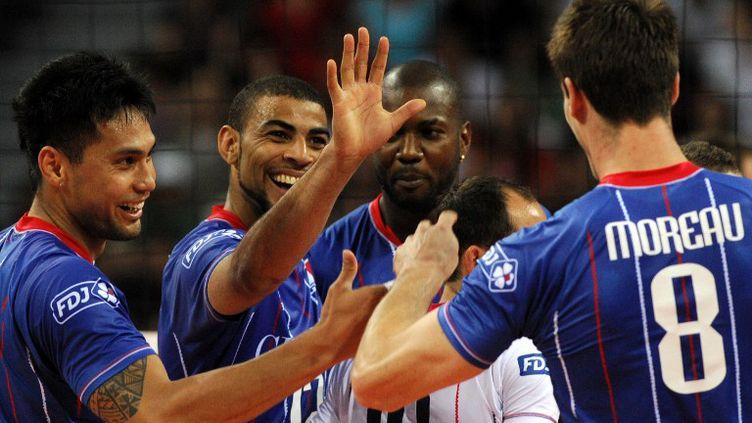 Les Bleus à l'Euro 2013 (NIKOLAY DOYCHINOV / AFP)