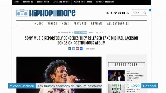 Michael Jackson : les fausses chansons de l'album posthume