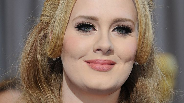 Adele en février 2013 à Hollywood.  (Valérie Macon / AFP)