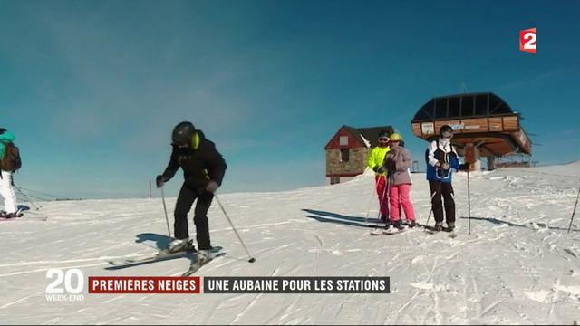 Neige : les stations de ski se frottent les mains