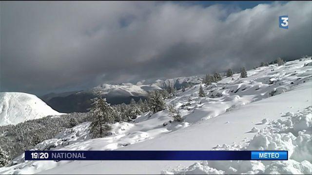 Premières neiges dans les Alpes et les Pyrénées