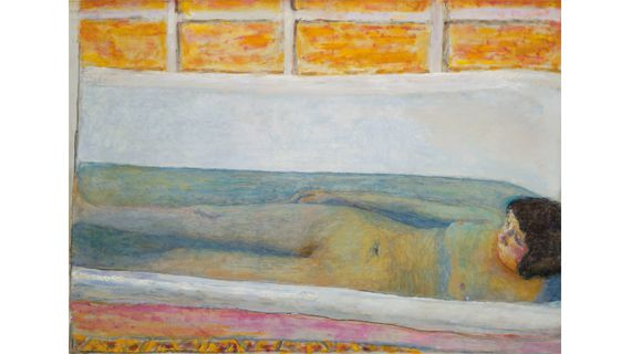 "Pierre Bonnard, ""Baignoire"" (""Le Bain""), 1925. Huile sur toile, 86 × 120,6 cm. Tate, don de Lord Ivor Spencer-Churchill par l'entremise de la Contemporary Art Society 1930. (PHOTO: © 2012, TATE, LONDON© 2012, PROLITTERIS, ZURICH)"