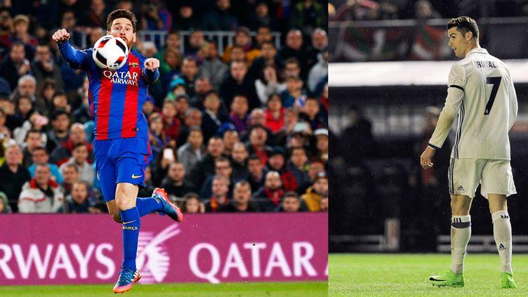Messi face à Ronaldo