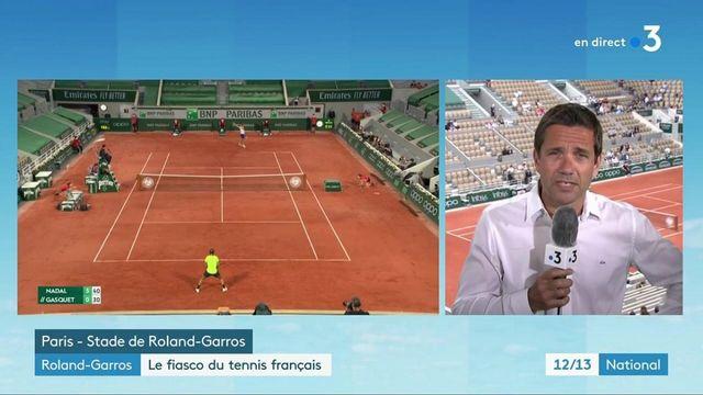 Roland-Garros : débandade historique pour les Français