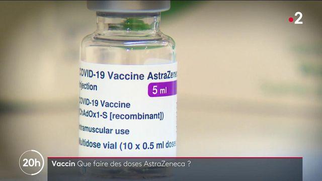 Covid-19 : que faire des doses du vaccin AstraZeneca, boudé par les Français ?
