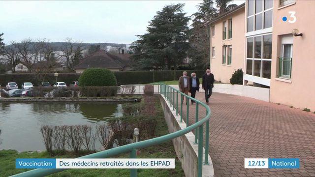 Covid-19 :des médecins retraités vaccinent enEphad