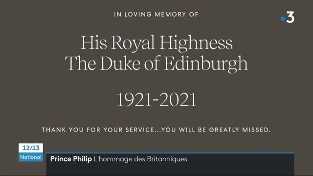 Décès du prince Philip Mountbatten : le pays rend hommage à l'époux de la reine d'Angleterre