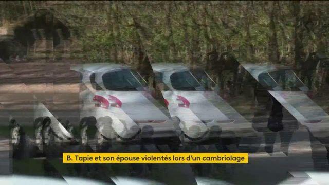 Seine-et-Marne : Bernard Tapie et son épouse agressés