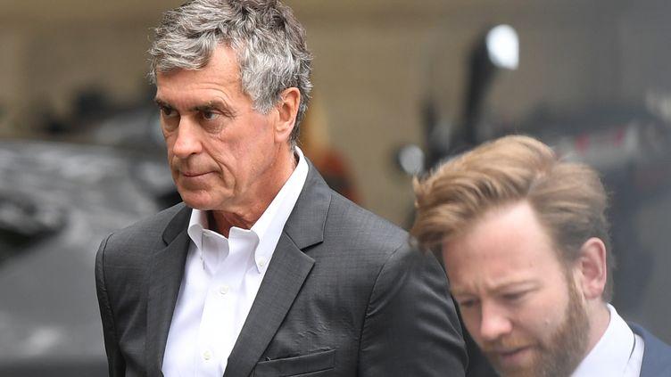 Jérôme Cahuzac, le 15 mai 2018, à Paris. (ERIC FEFERBERG / AFP)