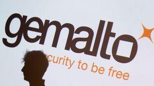 Le logo de Gémalto. (KENZO TRIBOUILLARD / AFP)