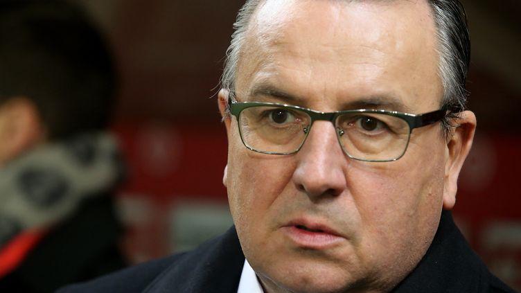 Le président du Stade de Reims, Jean-Pierre Caillot (FRANCOIS NASCIMBENI / AFP)