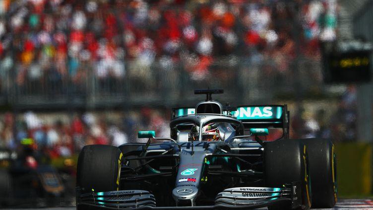 Lewis Halmiton, vainqueur du Grand Prix du Canada en 2019. (DAN ISTITENE / GETTY IMAGES)