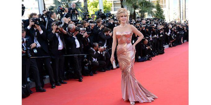 """Jane Fonda : """"l'important, c'est de ne pas tomber !""""  (AFP)"""