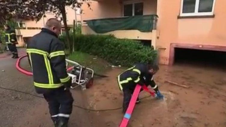 Inondation Moselle, juin 2018. (FRANCE 3)