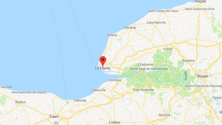 Le Havre en Seine-Maritime. (GOOGLE MAPS / FRANCETV INFO)