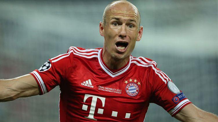 Le joueur hollandais Arjen Robben