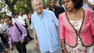 Paul Vergès (25 septembre 2011) (AFP)