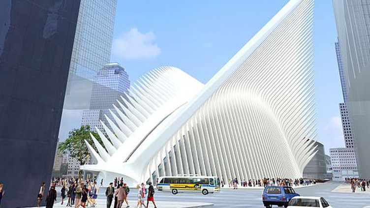 Représentation en 3D de la gare du World Trade Center à New York. (Creative Commons Attribution 2.0 Generic)