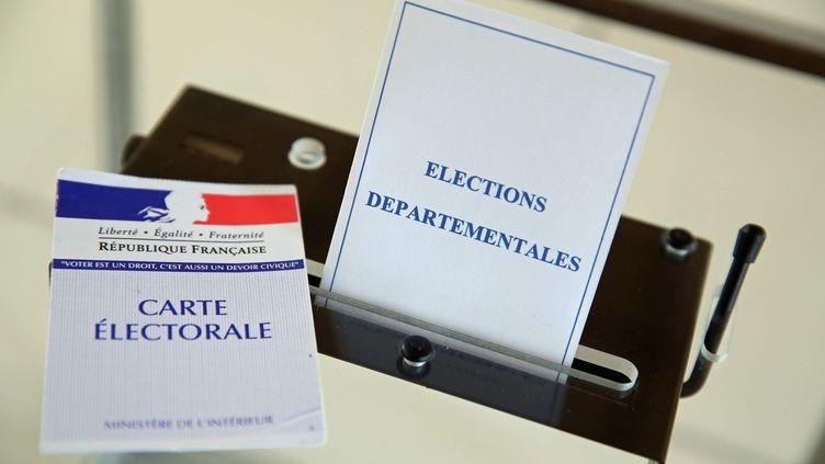 Plus de 43 millions d'électeurs sont appelés aux urnes pour élire leurs conseillers départementaux, les 22 et 29 mars 2015. (MAXPPP)