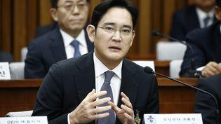 Lee Jae-yong, l'héritier et vice-président du groupe Samsung, à Séoul, le 6 décembre 2016. (JEON HEON-KYUN / POOL / EPA POOL)
