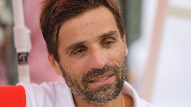 Arnaud Clément lors de l'Open de Pra Loup, le 13 août 2020. (DUCLET ST?PHANE / MAXPPP)