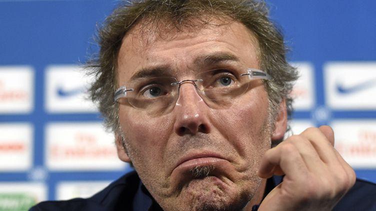 Laurent Blanc légèrement dubitatif (FRANCK FIFE / AFP)