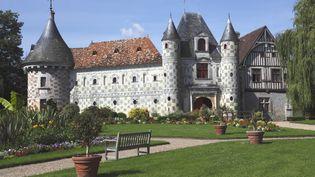 Le château-musée de Saint-Germain-de-Livet, dans le Calvados, membre du Réseau des musées de Normandie (octobre 2012) (NICOLAS THIBAUT / PHOTONONSTOP / AFP)