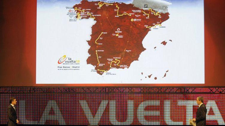 Le parcours de la Vuelta (MIGUEL RIOPA / AFP)