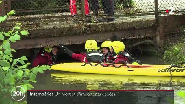 Intempéries : un adolescent retrouvé mort à Beauvais