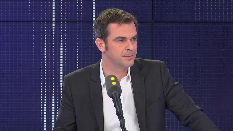 Olivier Véran, ministre de la Santé, invité de franceinfo dimanche 9 février 2020. (FRANCEINFO / RADIO FRANCE)