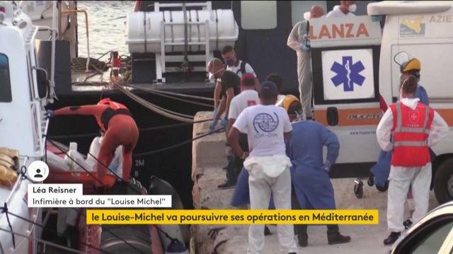 """""""Louise Michel"""" : """"C'est de la non-assistance à personne en danger de mort"""", accuse une infirmière"""