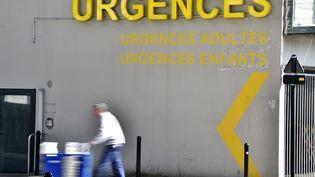 Les urgences du CHU de Nantes (Loire-Atlantique), le 16 mars 2017. (LOIC VENANCE / AFP)