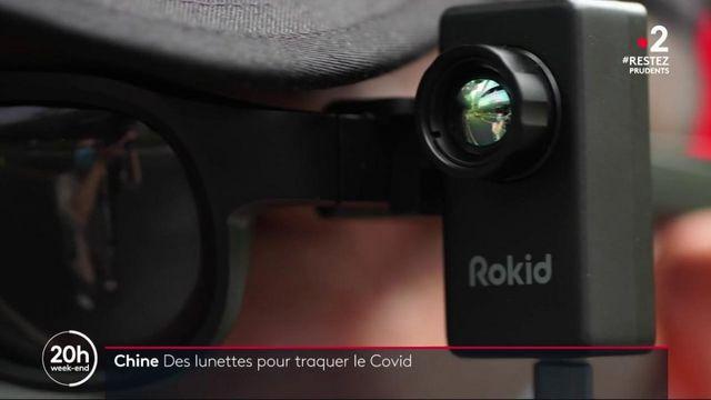 Chine : des lunettes thermiques pour traquer le coronavirus
