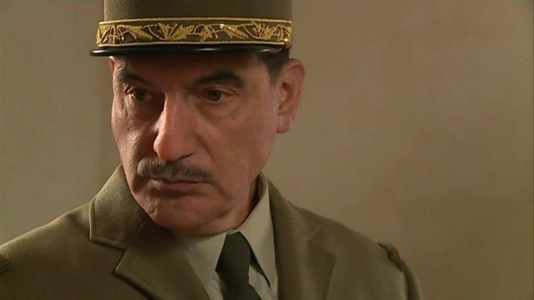 Samuel Labarthe incarne Cahrles de Gaulle (FLAVIEN BELLOUTI / FRANCE 3 HAUTS DE FRANCE)