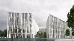 Le 19M, le futur bâtiment dédié aux métiers d'art Chanel (CHANEL/ARCHITECTE RUDY RICCIOTTI)