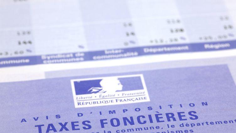 Les modalités de paiement de la taxe foncière. (CHRISTOPHE LEHENAFF / PHOTONONSTOP / AFP)