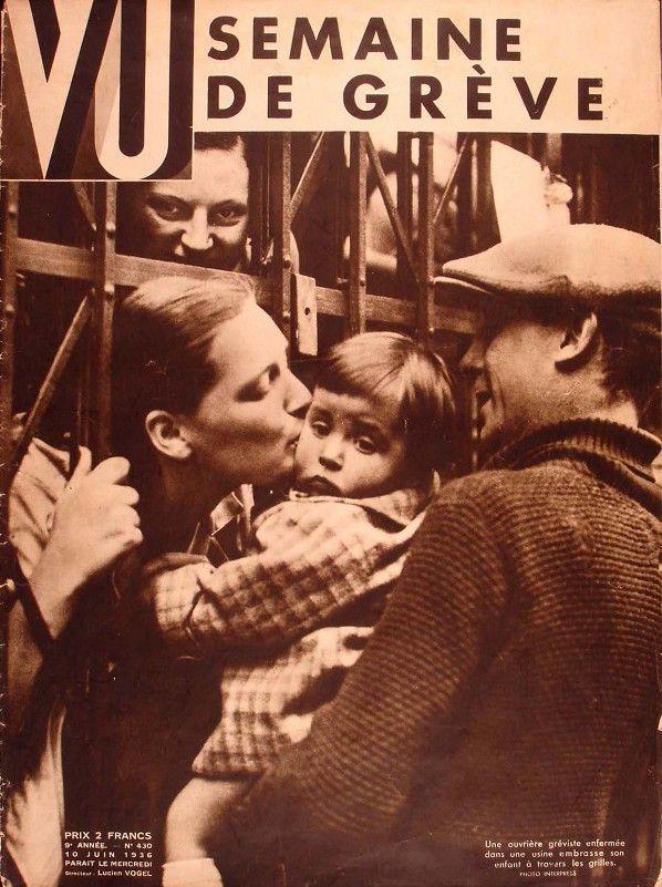 Magazine Vu « La grève »  (coll. MHV)