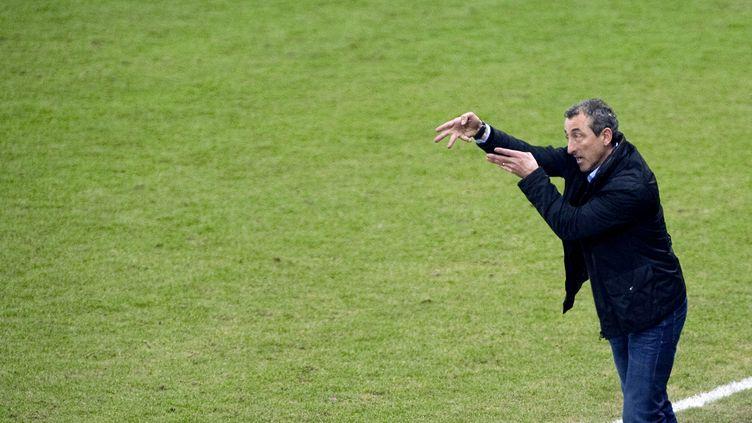 Mecha Bazdarevic lors d'un match Sochaux-Valenciennes, le 3 mars 2012 à Montbéliard (Doubs). (SEBASTIEN BOZON / AFP)