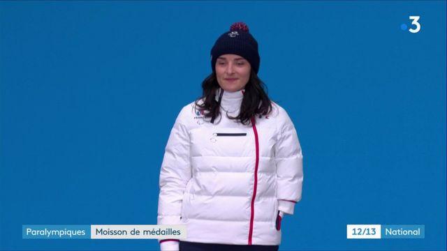 Paralympiques : moisson de médailles pour la France