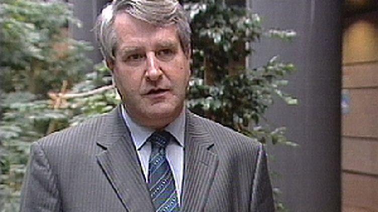 Phillipe Richert, tête de liste UMP en Alsace. (France 3 Alsace)