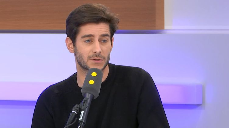 Guillaume Gibault, sur franceinfo, mercredi 15 janvier. (FRANCEINFO / RADIOFRANCE)
