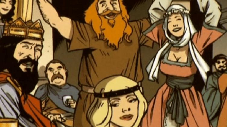 L'Histoire de France pour les Nuls en bande dessinée  (France3/Culturebox)