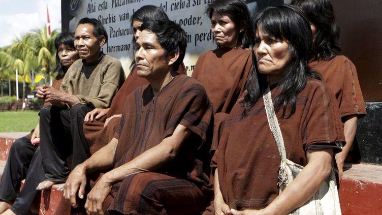 Pendant l'été 2015, les forces spéciales péruviennes ont libéré une cinquantaine de personnes, dont 26 enfants, pour certains retenus depuis 30 ans par les rebelles maoïstes du Sentier lumineux, et réduits en esclavage dans des «camps de production» de la coca. (REUTERS/Mariana Bazo)